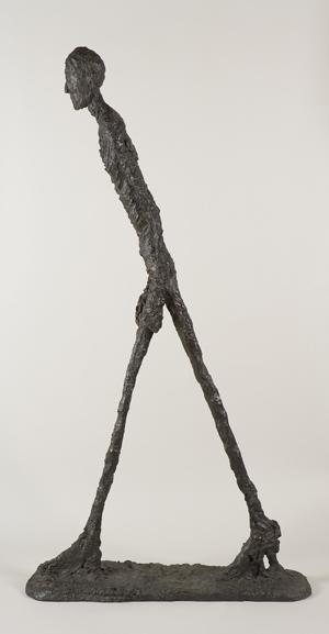 Alberto Giacomettis Homme qui marche